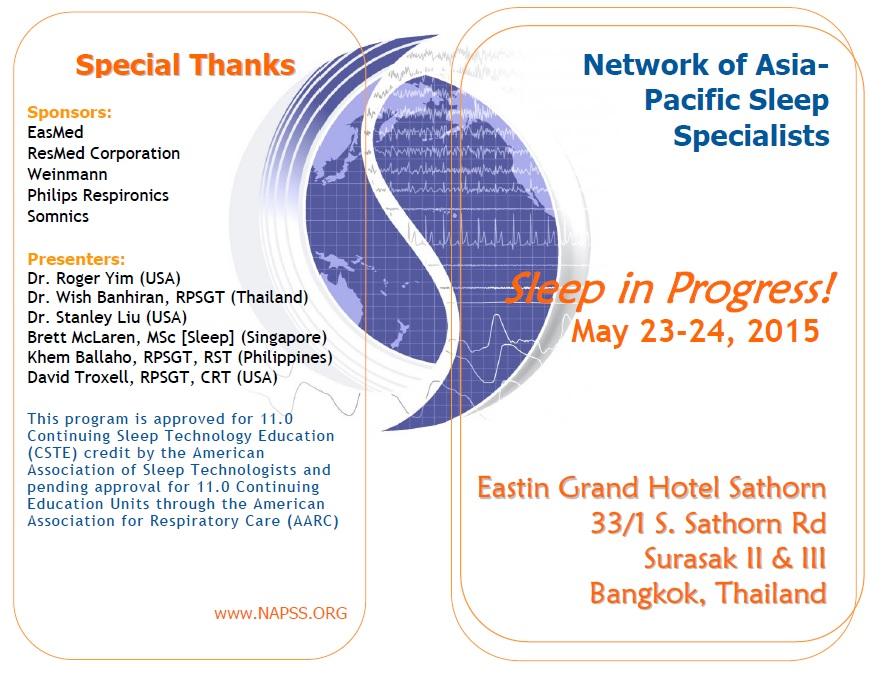 2015 NAPSS BKK Program Page 1
